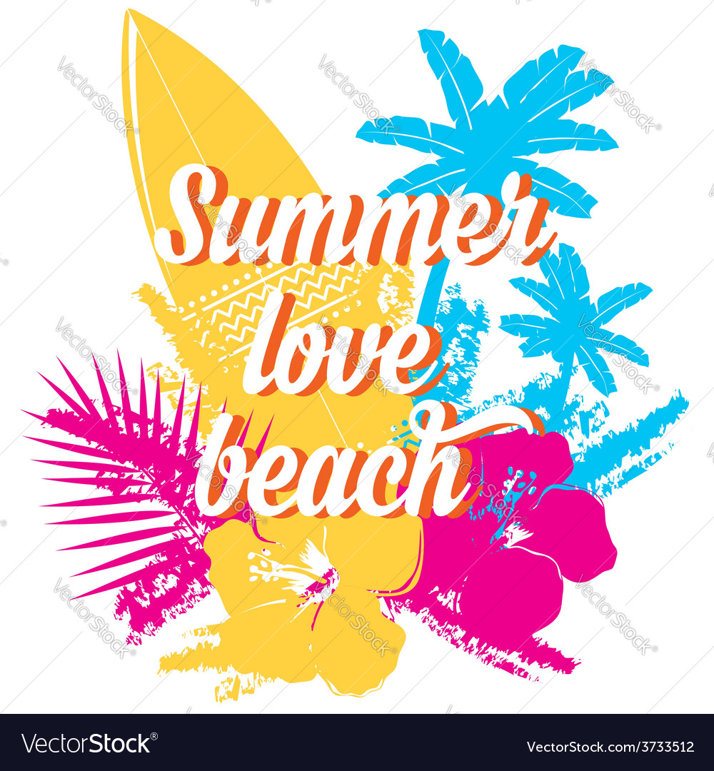 Surf summer icon design label vector