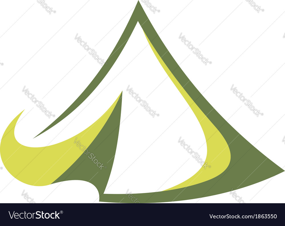 Travel tent vector