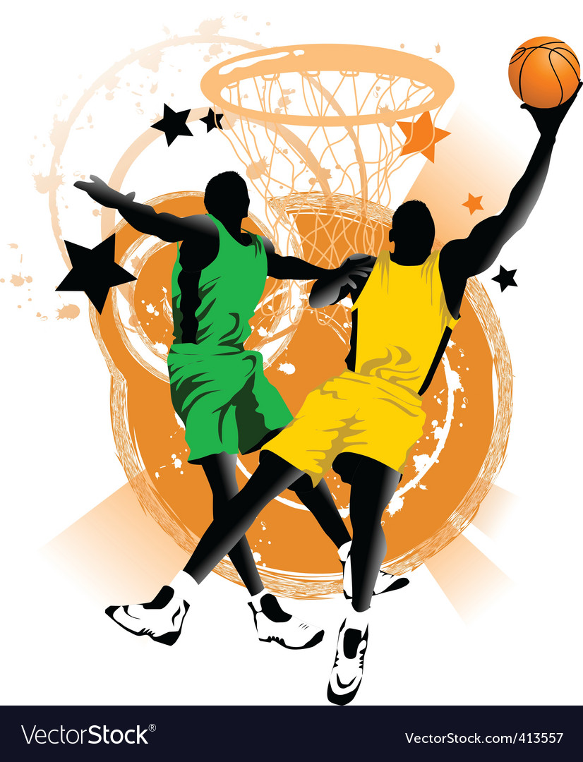 Basketball club vector