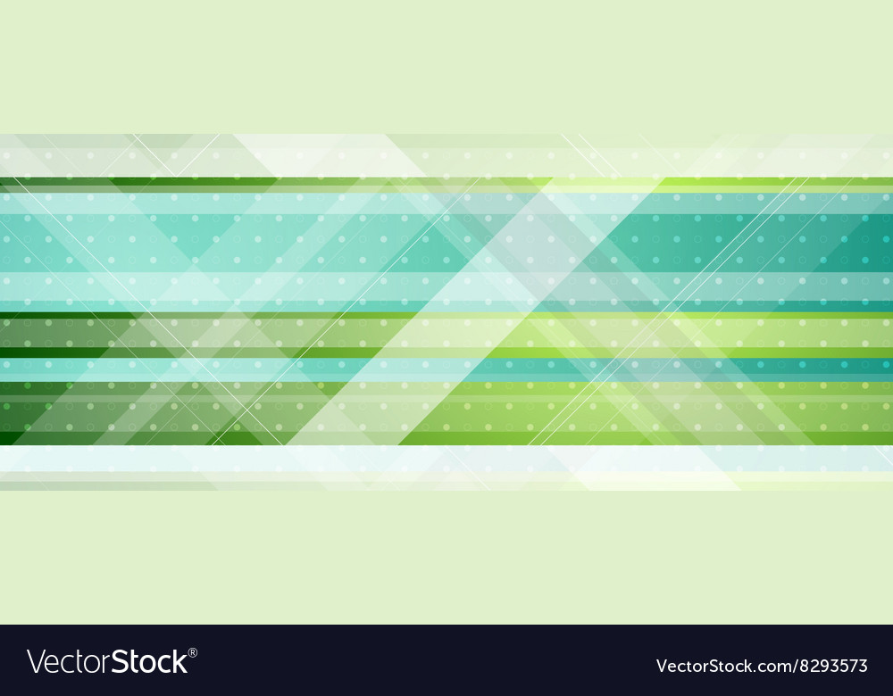 Abstract tech minimal banner design vector