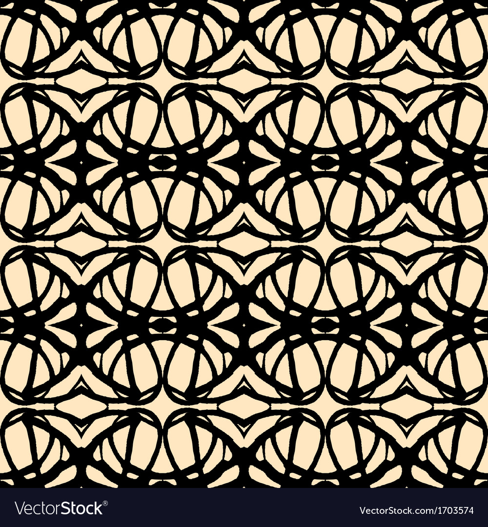 Seamless pattern in art deco style vector