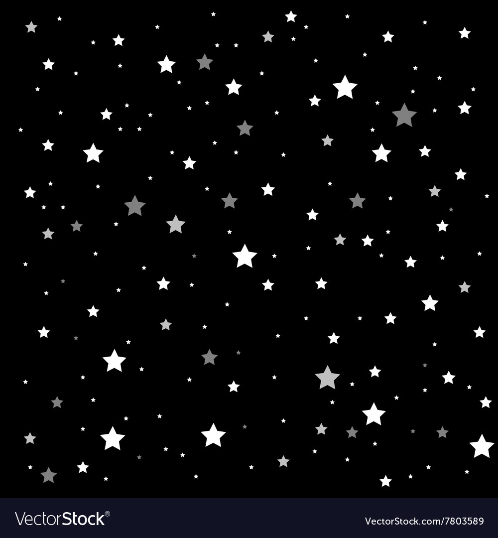 Background starry night sky eps 10 vector