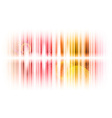 vertical lines abstract red vector image vector image