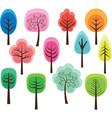 Cute Tree vector image vector image