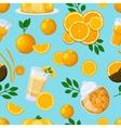 Juice drink pattern vector image