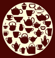 coffee and tea - vector image