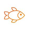 restauran menu seafood fish fresh gourmet vector image