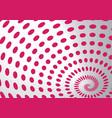 spiral dots vector image