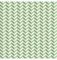 Seamless Retro Abstract Green Toothed Zig Zag vector image