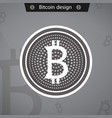 bitcoins business crypto mining gold vector image