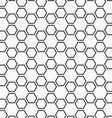 Flat gray with hexagonal stars vector image