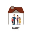 Graphic of Family design vector image