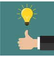 Great Idea Business idea concept vector image