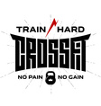 Crossfit - original lettering print for t-shirt or vector image