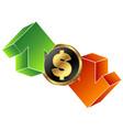 currency exchange symbol vector image