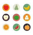 nutrition healthy food isolated icon vector image