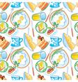 nourishing meal vector image vector image