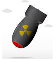 nuclear bomb vector image