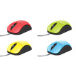 Computer Mouse Set vector image vector image