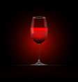 Wine Glass 4 vector image