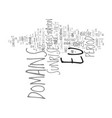 eu domains for everybody text background word vector image