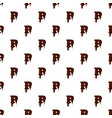letter p from latin alphabet made of chocolate vector image