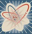 peaceful nuclear energy vector image