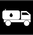 cistern truck it is icon vector image