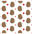 Potatoes seamless pattern vector image