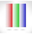 Design set of vertical modern backgrounds vector image
