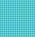 Seamless Geometrical Pattern Unusual Blue and vector image