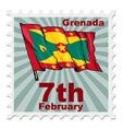 national day of Grenada vector image