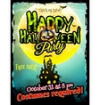 Grunge Halloween background EPS 10 vector image