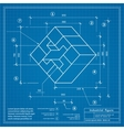 Blueprint background image vector image