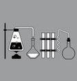 chemistry stinks technology vector image