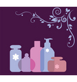 perfumes and cosmetics vector image