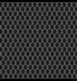 abstract carbon fiber circle material textu vector image