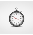 Stopwatch Icon vector image vector image