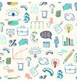 Business doodle pattern