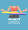 Hulahoop Playing vector image