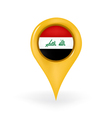 Location Iraq vector image