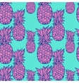 Pineapple pattern - vector image