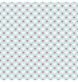 Retro abstract heart seamless pattern for r vector image