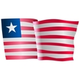 flag of Liberia vector image vector image