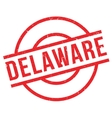 Delaware rubber stamp vector image