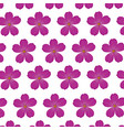plumeria flower purple wallpaper decoration vector image