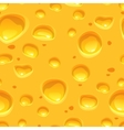 Yellow cheese seamless pattern vector image