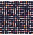 diamonds on a dark blue background pattern vector image