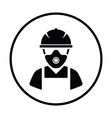 Repair worker icon vector image vector image