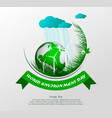 world environment day4 vector image